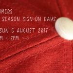 Date claimers: 2017/18 Season sign-on