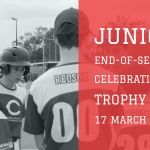 Junior end-of-season celebration and trophy day
