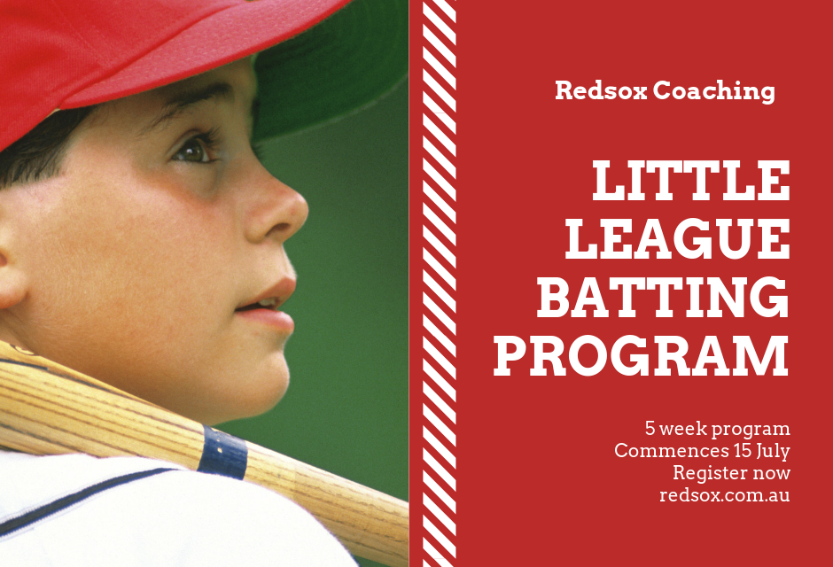 Little League Batting Program