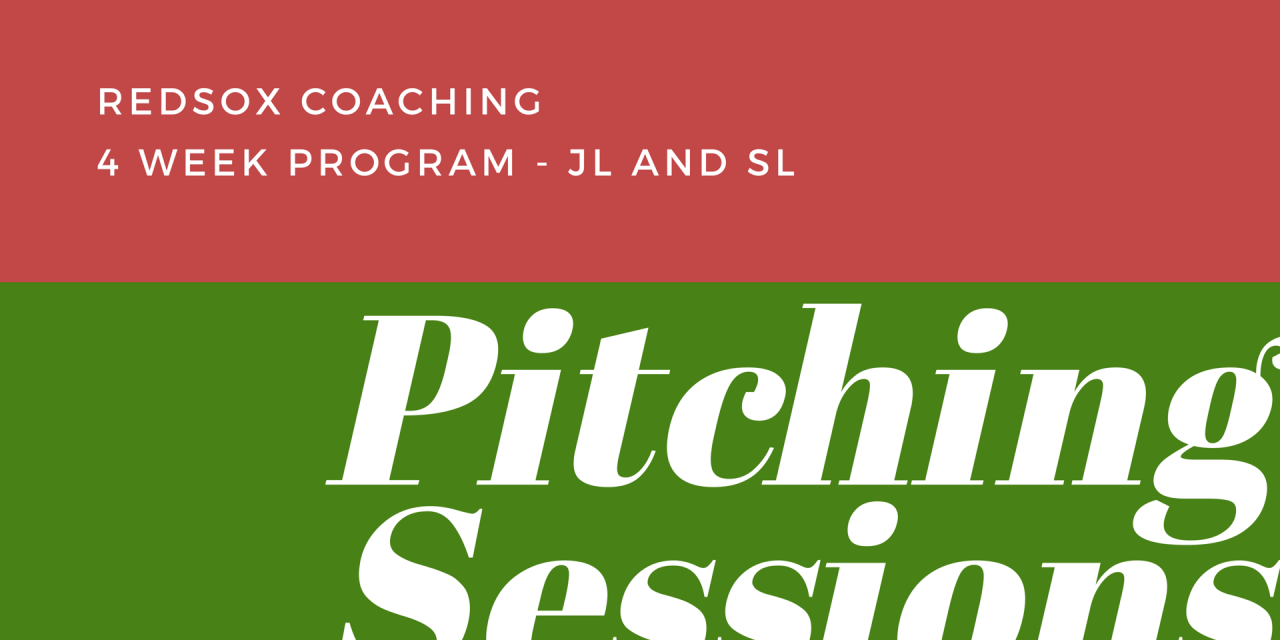JL and SL Pitching Program