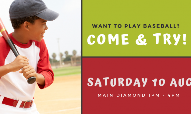 Come and Try baseball