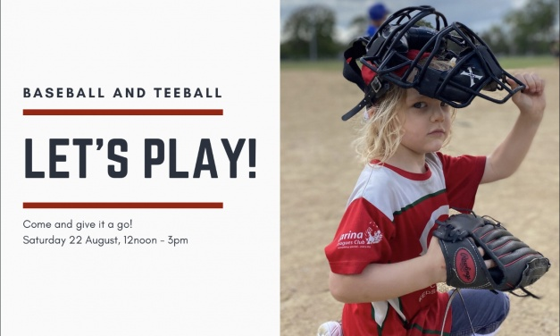 Let's Play teeball and baseball!